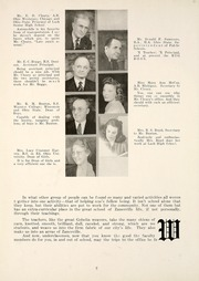 Page 12, 1945 Edition, Zanesville High School - Comus Yearbok (Zanesville, OH) online yearbook collection