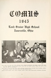 Page 5, 1945 Edition, Zanesville High School - Comus Yearbok (Zanesville, OH) online yearbook collection