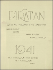 Page 3, 1941 Edition, West Carrollton High School - Piratan Yearbook (West Carrollton, OH) online yearbook collection