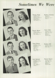 Page 14, 1949 Edition, West Carrollton High School - Piratan Yearbook (West Carrollton, OH) online yearbook collection