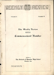 Page 3, 1923 Edition, Hamilton High School - Review Yearbook (Hamilton, OH) online yearbook collection