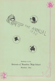 Page 5, 1930 Edition, Hamilton High School - Review Yearbook (Hamilton, OH) online yearbook collection