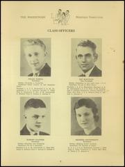 Page 11, 1935 Edition, Madison High School - Madisonian Yearbook (Mansfield, OH) online yearbook collection