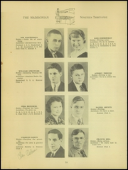 Page 12, 1935 Edition, Madison High School - Madisonian Yearbook (Mansfield, OH) online yearbook collection