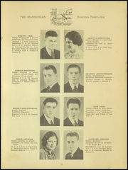 Page 13, 1935 Edition, Madison High School - Madisonian Yearbook (Mansfield, OH) online yearbook collection
