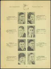 Page 14, 1935 Edition, Madison High School - Madisonian Yearbook (Mansfield, OH) online yearbook collection