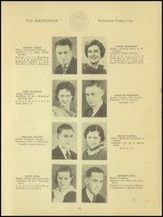 Page 15, 1935 Edition, Madison High School - Madisonian Yearbook (Mansfield, OH) online yearbook collection