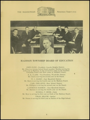 Page 6, 1935 Edition, Madison High School - Madisonian Yearbook (Mansfield, OH) online yearbook collection