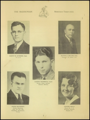 Page 7, 1935 Edition, Madison High School - Madisonian Yearbook (Mansfield, OH) online yearbook collection