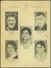 Page 8, 1935 Edition, Madison High School - Madisonian Yearbook (Mansfield, OH) online yearbook collection