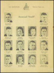 Page 9, 1935 Edition, Madison High School - Madisonian Yearbook (Mansfield, OH) online yearbook collection