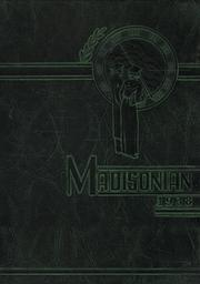 Page 1, 1938 Edition, Madison High School - Madisonian Yearbook (Mansfield, OH) online yearbook collection