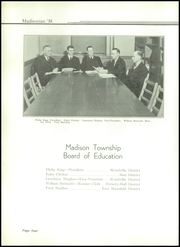 Page 10, 1938 Edition, Madison High School - Madisonian Yearbook (Mansfield, OH) online yearbook collection
