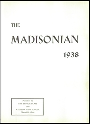 Page 7, 1938 Edition, Madison High School - Madisonian Yearbook (Mansfield, OH) online yearbook collection