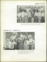 Page 80, 1954 Edition, Woodward High School - Treasures Yearbook (Cincinnati, OH) online yearbook collection