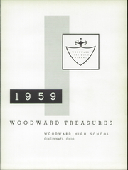 Page 5, 1959 Edition, Woodward High School - Treasures Yearbook (Cincinnati, OH) online yearbook collection