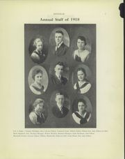 Page 9, 1918 Edition, Ashland High School - Guide Yearbook (Ashland, OH) online yearbook collection