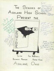 Page 5, 1959 Edition, Ashland High School - Guide Yearbook (Ashland, OH) online yearbook collection