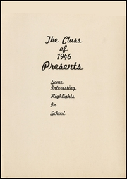 Page 5, 1946 Edition, Sycamore High School - Log Yearbook (Cincinnati, OH) online yearbook collection