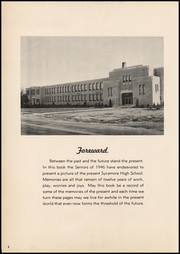 Page 6, 1946 Edition, Sycamore High School - Log Yearbook (Cincinnati, OH) online yearbook collection