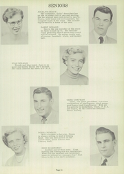 Page 15, 1956 Edition, Sycamore High School - Log Yearbook (Cincinnati, OH) online yearbook collection