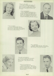 Page 16, 1956 Edition, Sycamore High School - Log Yearbook (Cincinnati, OH) online yearbook collection