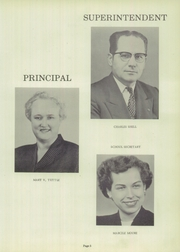 Page 9, 1956 Edition, Sycamore High School - Log Yearbook (Cincinnati, OH) online yearbook collection