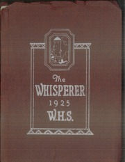 Page 1, 1925 Edition, Wadsworth High School - Whisperer Yearbook (Wadsworth, OH) online yearbook collection