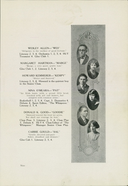 Page 13, 1925 Edition, Wadsworth High School - Whisperer Yearbook (Wadsworth, OH) online yearbook collection