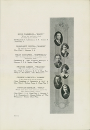 Page 15, 1925 Edition, Wadsworth High School - Whisperer Yearbook (Wadsworth, OH) online yearbook collection