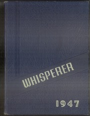 Page 1, 1947 Edition, Wadsworth High School - Whisperer Yearbook (Wadsworth, OH) online yearbook collection