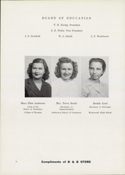 Page 12, 1948 Edition, Wadsworth High School - Whisperer Yearbook (Wadsworth, OH) online yearbook collection