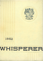 1952 Edition, Wadsworth High School - Whisperer Yearbook (Wadsworth, OH)