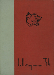 1954 Edition, Wadsworth High School - Whisperer Yearbook (Wadsworth, OH)