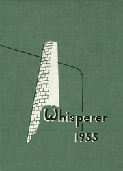 1955 Edition, Wadsworth High School - Whisperer Yearbook (Wadsworth, OH)