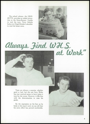 Page 13, 1955 Edition, Wadsworth High School - Whisperer Yearbook (Wadsworth, OH) online yearbook collection