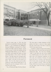 Page 6, 1960 Edition, Wadsworth High School - Whisperer Yearbook (Wadsworth, OH) online yearbook collection