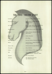 Page 8, 1945 Edition, Portsmouth High School - Trojan Yearbook (Portsmouth, OH) online yearbook collection