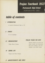 Page 4, 1953 Edition, Portsmouth High School - Trojan Yearbook (Portsmouth, OH) online yearbook collection