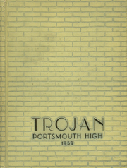 1959 Edition, Portsmouth High School - Trojan Yearbook (Portsmouth, OH)