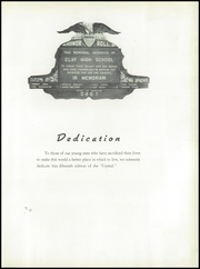 Page 9, 1945 Edition, Clay High School - Crystal Yearbook (Oregon, OH) online yearbook collection