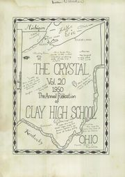 Page 5, 1950 Edition, Clay High School - Crystal Yearbook (Oregon, OH) online yearbook collection