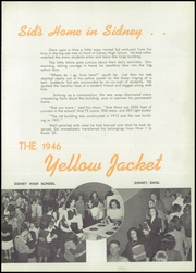 Page 7, 1946 Edition, Sidney High School - Yellow Jacket Yearbook (Sidney, OH) online yearbook collection