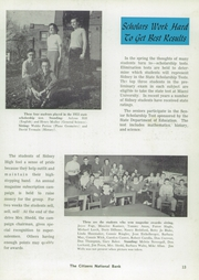 Page 17, 1956 Edition, Sidney High School - Yellow Jacket Yearbook (Sidney, OH) online yearbook collection