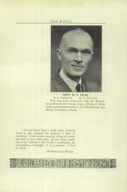 Page 11, 1930 Edition, Miamisburg High School - Mirus Yearbook (Miamisburg, OH) online yearbook collection