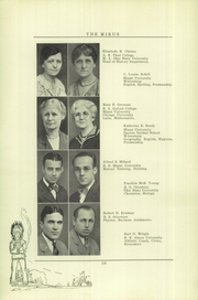Page 12, 1930 Edition, Miamisburg High School - Mirus Yearbook (Miamisburg, OH) online yearbook collection