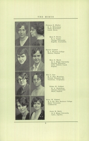 Page 10, 1931 Edition, Miamisburg High School - Mirus Yearbook (Miamisburg, OH) online yearbook collection
