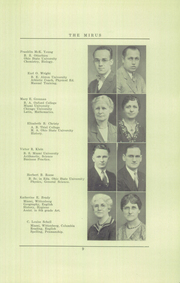 Page 11, 1931 Edition, Miamisburg High School - Mirus Yearbook (Miamisburg, OH) online yearbook collection