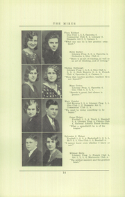 Page 16, 1931 Edition, Miamisburg High School - Mirus Yearbook (Miamisburg, OH) online yearbook collection