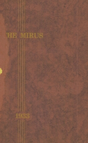 1933 Edition, Miamisburg High School - Mirus Yearbook (Miamisburg, OH)